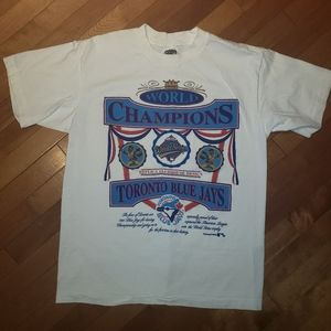 Other - 2 for $10   Vintage Blue Jay's World Champions Tee